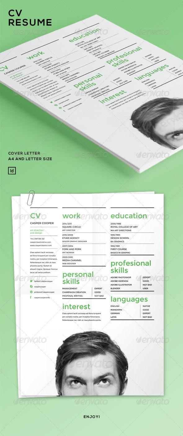 CV - Resume - Resumes Stationery
