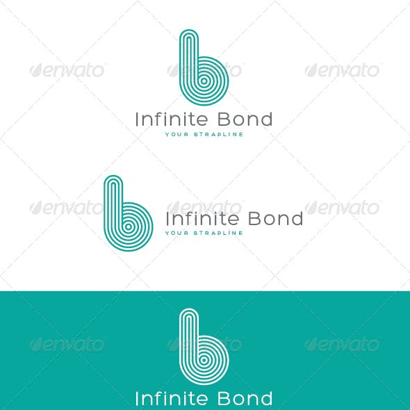 Infinite Bond Letter B Logo