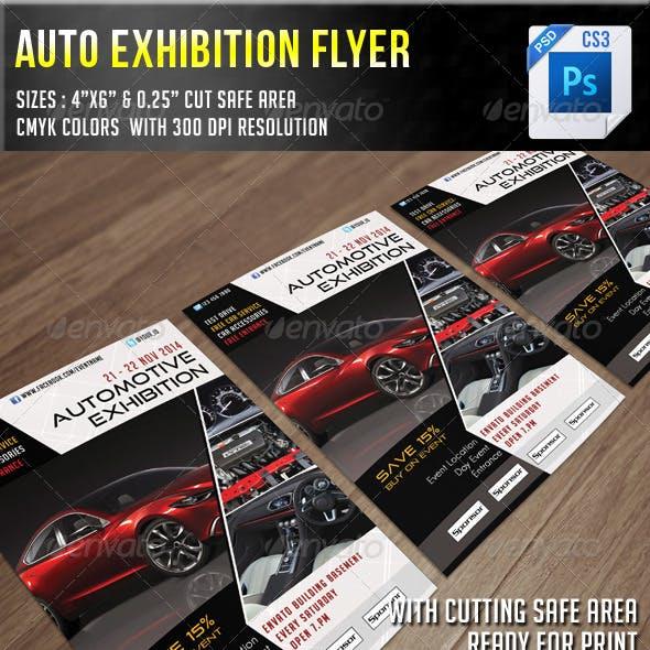 Auto Exhibition Flyer V6