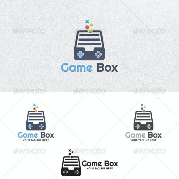 Game Box - Logo Template