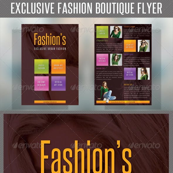 Fashion Product Flyer 42