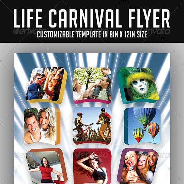 Life Carnival Flyer