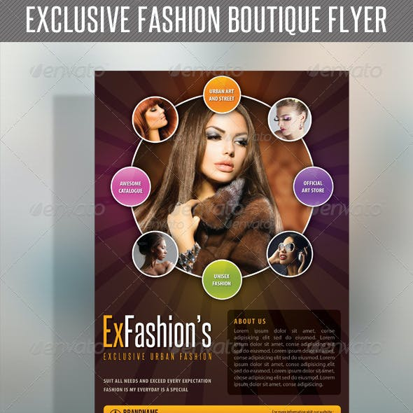 Fashion Product Flyer 41
