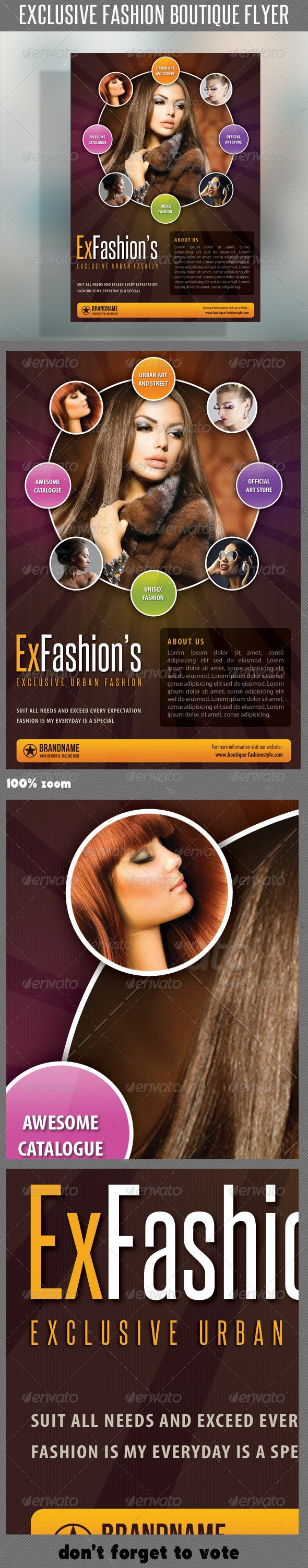 Fashion Product Flyer 41 - Commerce Flyers