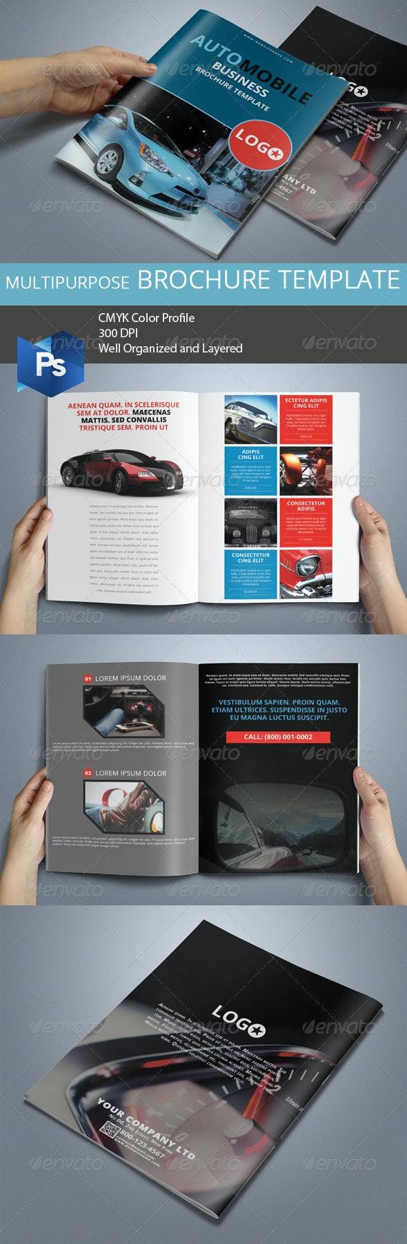 Multipurpose Business Brochure 01 - Corporate Brochures