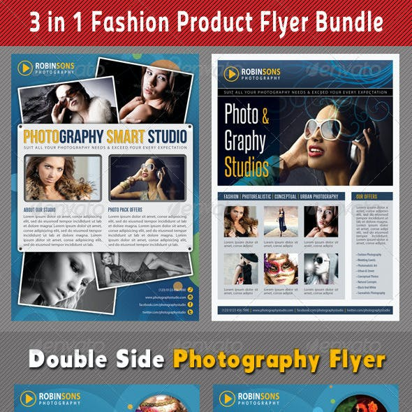 3 in 1 Fashion Product Flyer Bundle 13