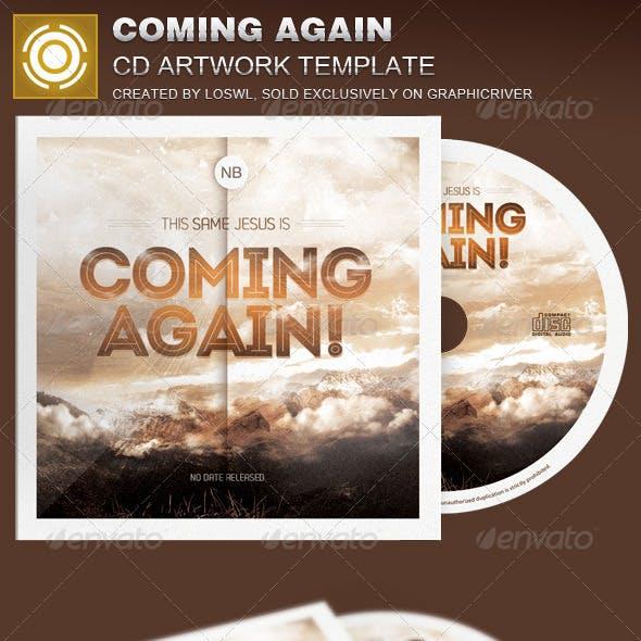 Coming Again CD Artwork Template