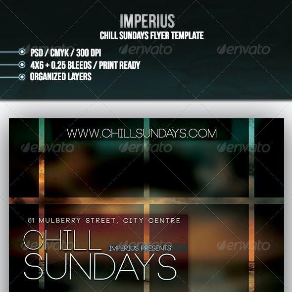 Chill Sundays Flyer