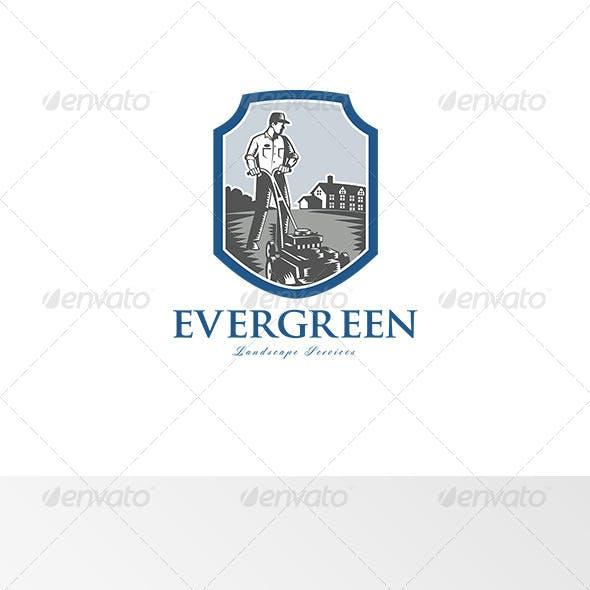 Evergreen Landscape Services Logo