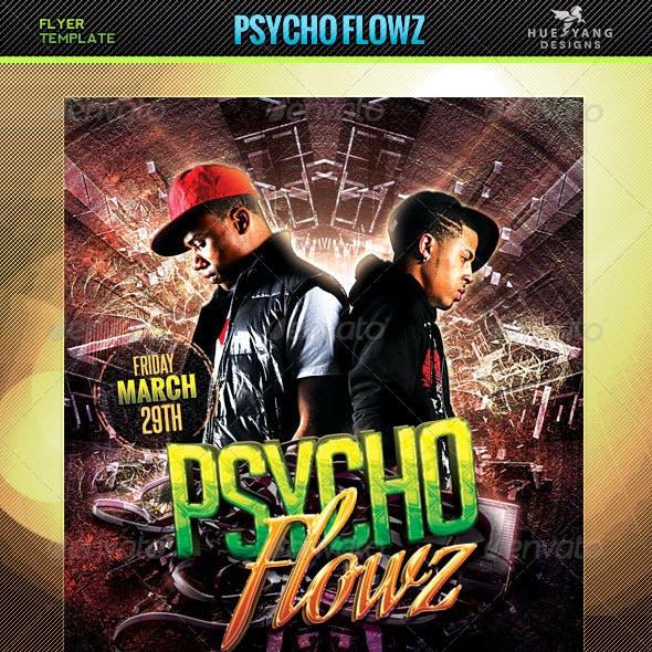 Psycho Flowz Flyer