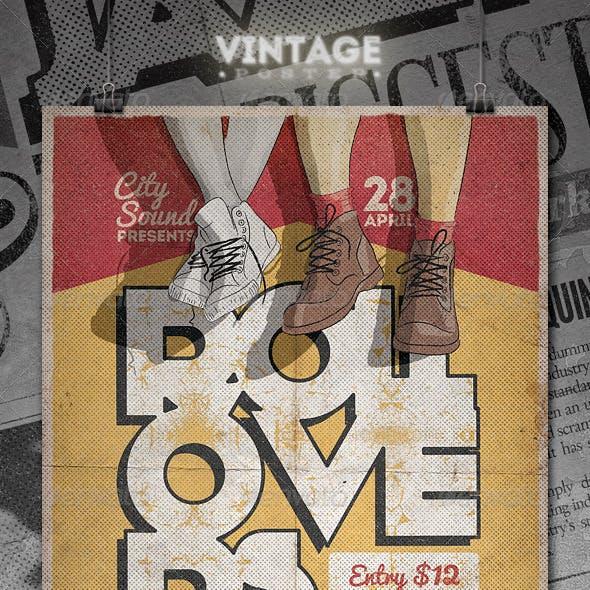 Vintage Poster / Flyer - II