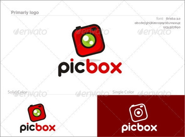 PicBox - Objects Logo Templates