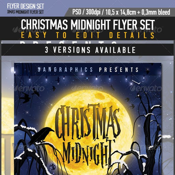 Christmas Midnight Flyer Set