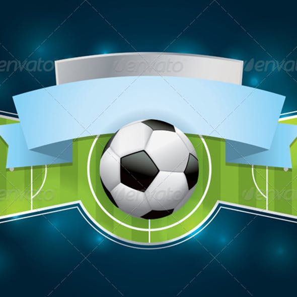 Soccer - Football Badge and Banner