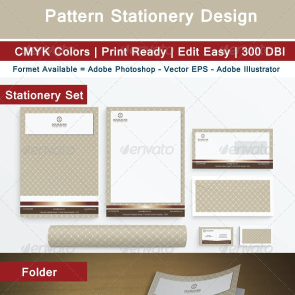 Pattern Stationery Design