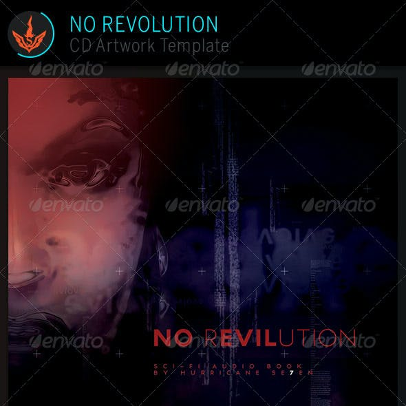No Revolution: CD Artwork Template