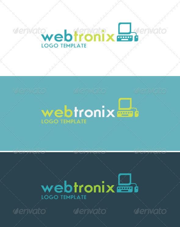 Webtronix Logo - Objects Logo Templates