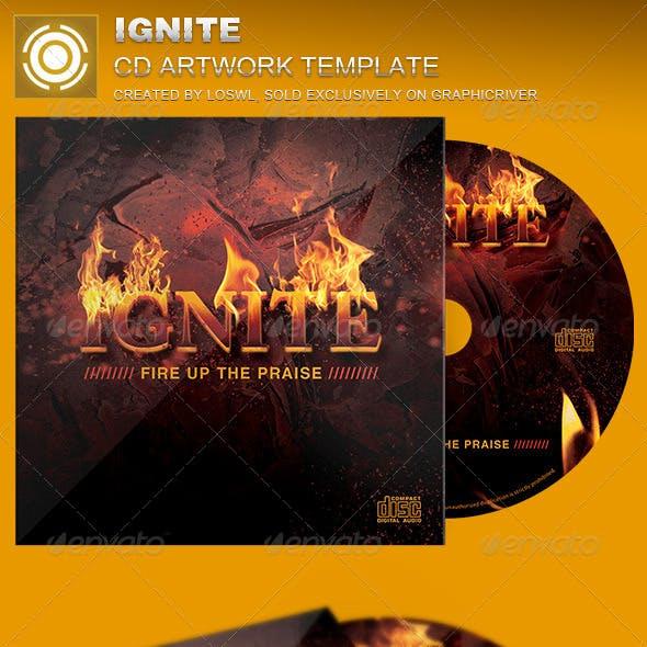 Ignite CD Artwork Template