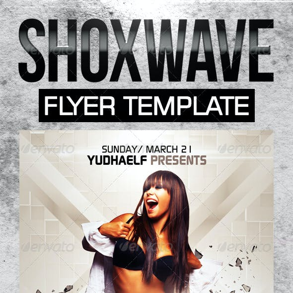Shoxwave Flyer Template