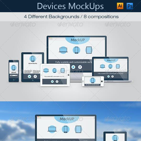 Device Mockups Responsive