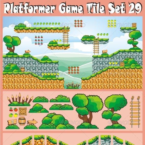 Platformer Game Tile Set 29