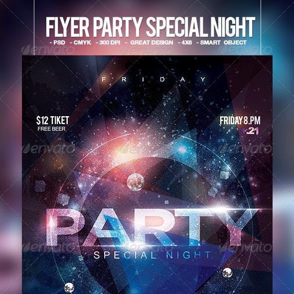 Flyer Party Special Night