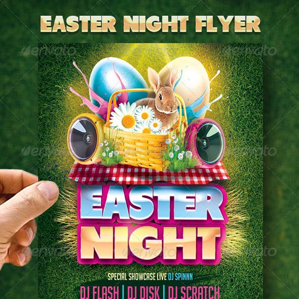 Easter Night Flyer