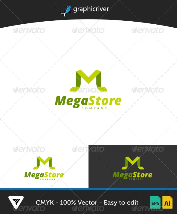 MegaStore Logo - Logo Templates