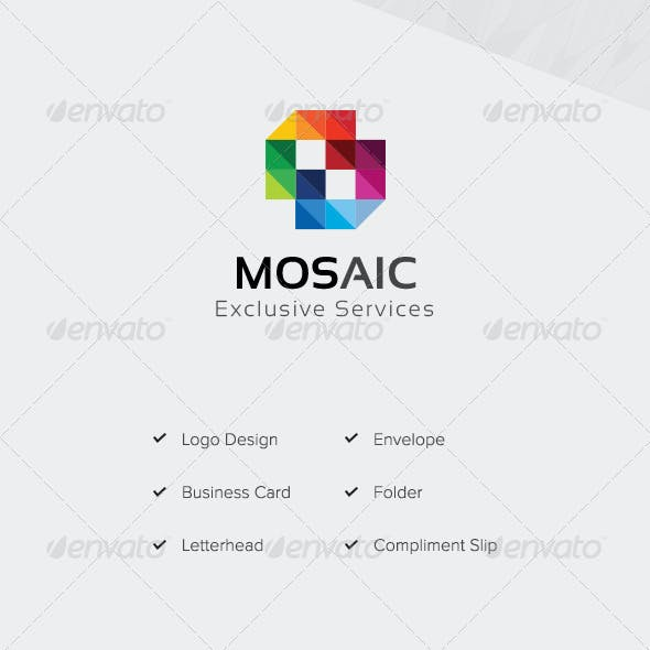 Mosaic Stationery Pack
