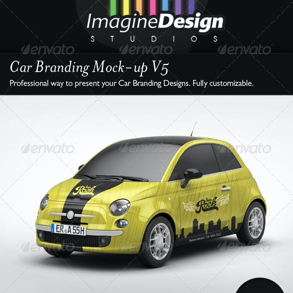 Car Branding Mock-Up V5