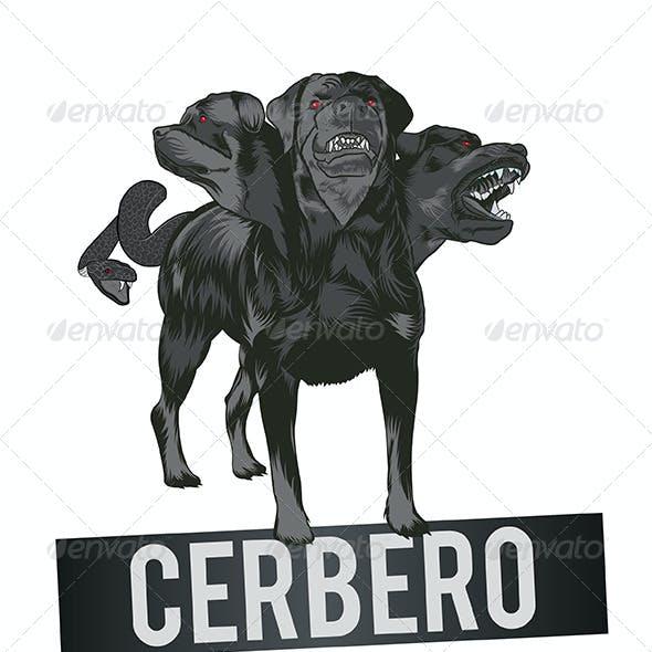 Dog Mascot Cerberus