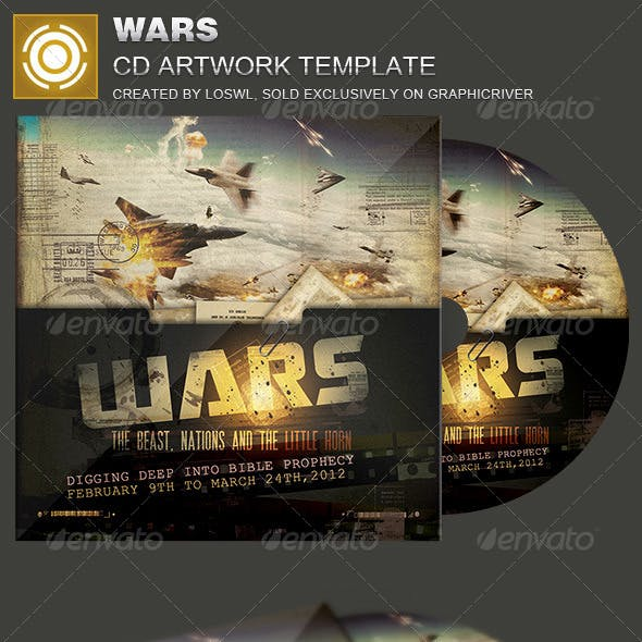 Wars CD Artwork Template