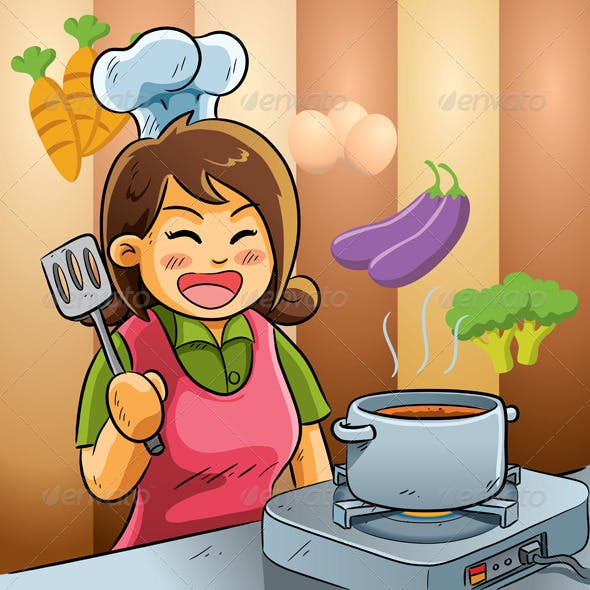 Mommy Love Cooking