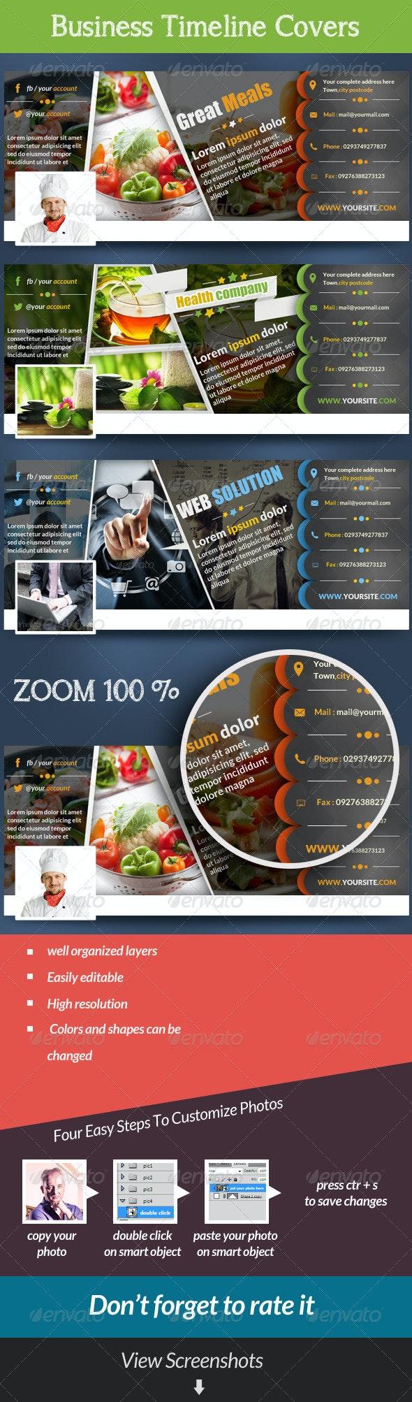 Business Facebook Covers (Multipurpose) - Facebook Timeline Covers Social Media