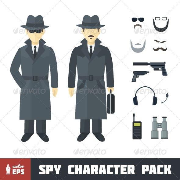 Spy Character Set