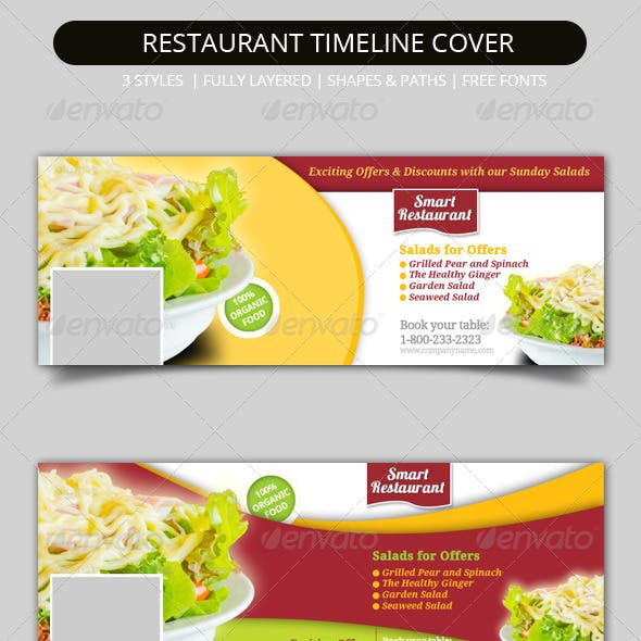 Restaurant Facebook Timeline Covers
