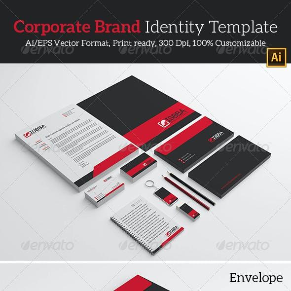 Corporate Brand Identity Template.
