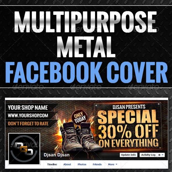 Multipurpose Metal Timeline Cover