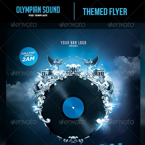 Olympian Sound Flyer Template