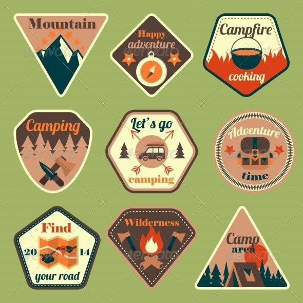 Badges - Travel Conceptual