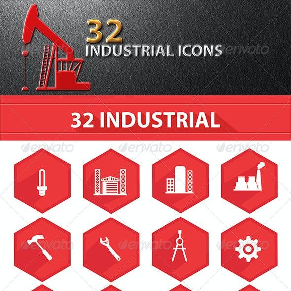 32 Industrial Icons