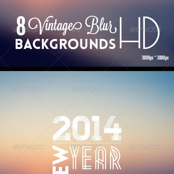08 Vintage Blur Backgrounds