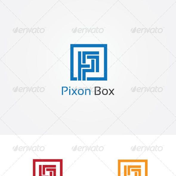 P Letter Box Logo
