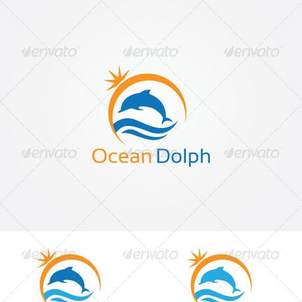 Ocean Dolphin Logo
