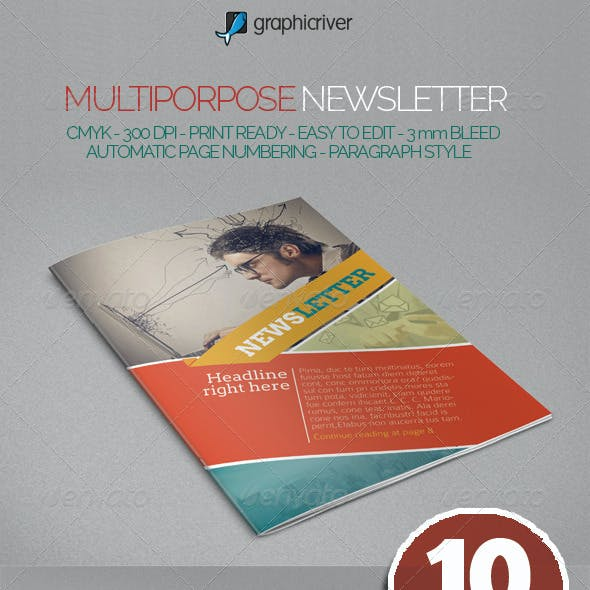 Multipurpose Newslettter