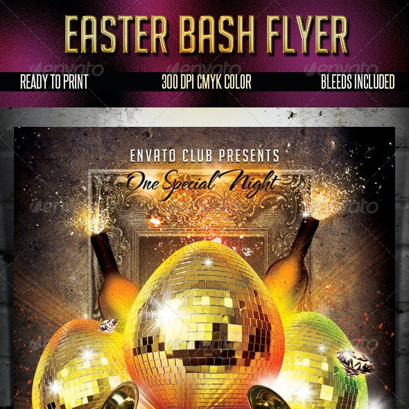 Easter Bash Flyer