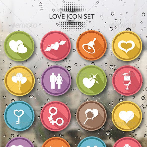Love Story Icons