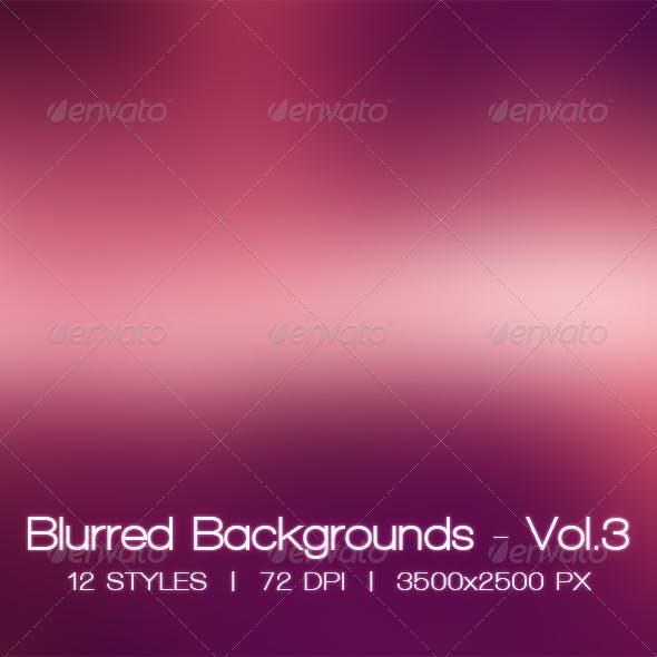 Blur Vol.3 - 12 Blurred HD Backgrounds