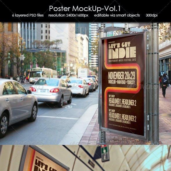 Poster MockUp-Vol.1