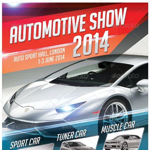 Automotive Show Flyer